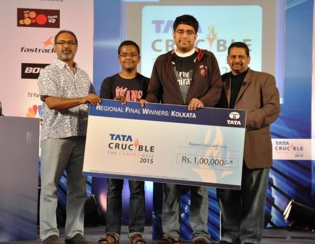 Gauhati University, IIFT Kolkata from Zone 2 secure their spot in  national finals of Tata Crucible Campus Quiz