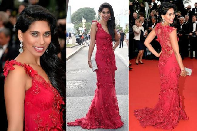 Actress Fagun Thakrar sizzles at the Cannes Film Festival