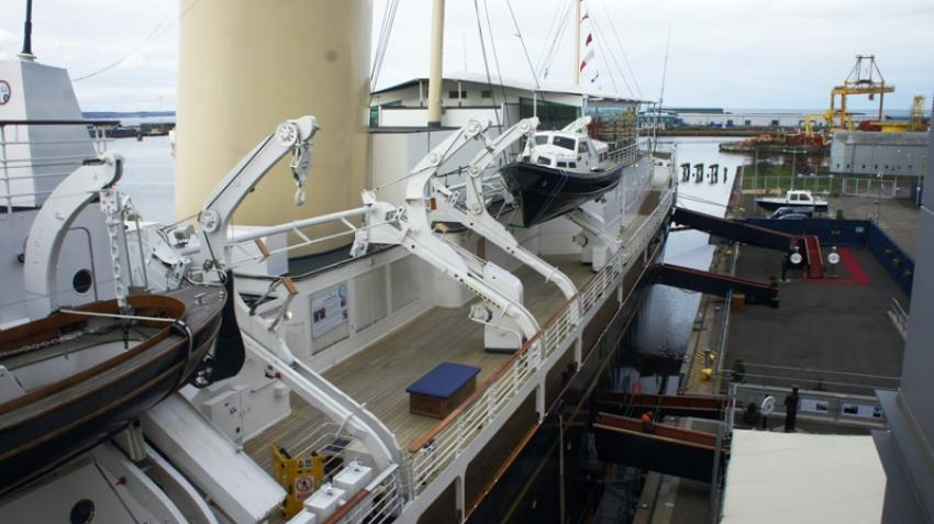 Royal Yacht Britannia: Queen's floating palace woos Edinburgh visitors