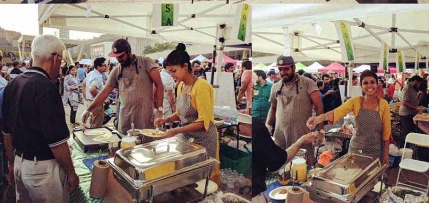 Toronto's Nathan Philips Square turns into Indian street food destination