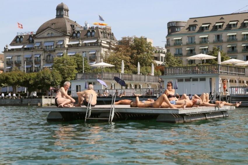 Zurich 48 Hours: Water, water everywhere, every drop to drink