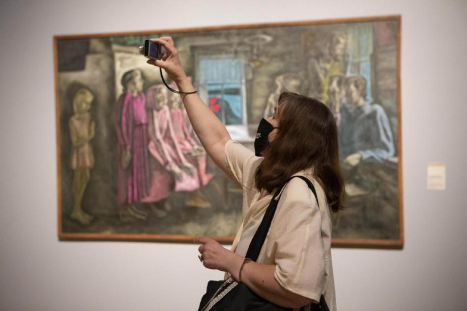 Exhibition at New Tretyakov Gallery in Moscow