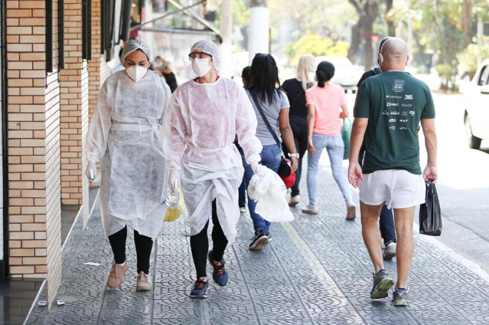 Images of the Day:Sao Paolo amid Covid-19 outbreak