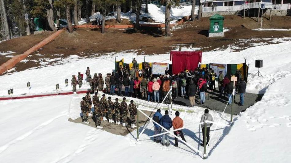 Jammu and Kashmir celebrates Gulmarg Winter Festiv ...