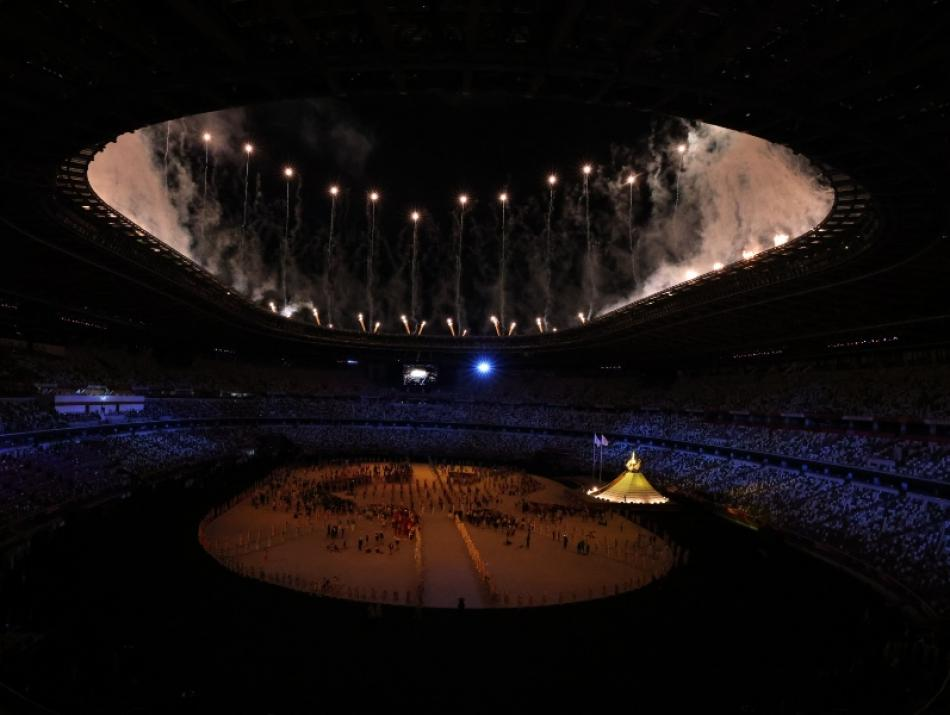 Images of the Day: Tokyo Olympics begins