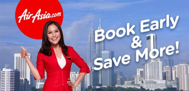Air Asia Travel from 18 Aug 2014 - 30 Apr 2015