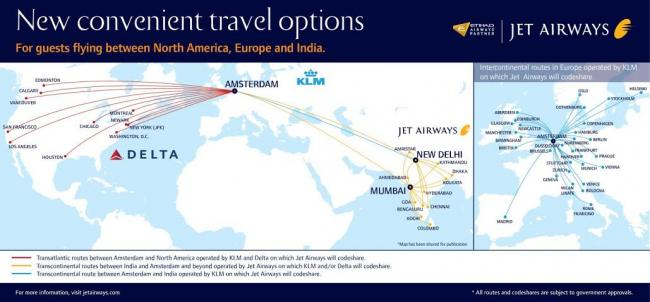 Jet Airways to launch daily flights to Amsterdam from Mumbai, Delhi, Toronto