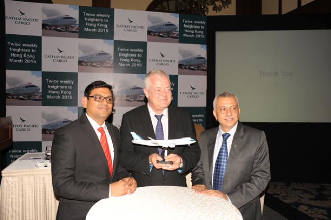 Cathay Pacific Airways launches new freighter service between Kolkata-Hong Kong