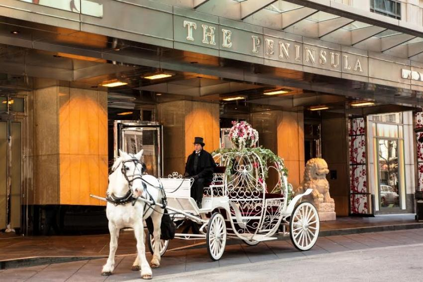 The Peninsula Chicago woos loving hearts with Valentine's Day offers