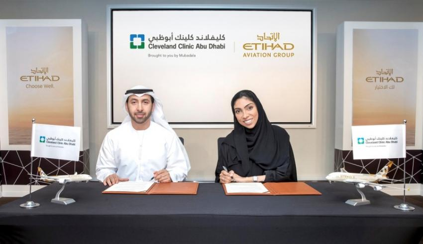 Etihad inks deal with Cleveland Clinic to promote Abu Dhabi Medical Tourism