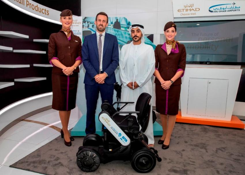 Etihad Airways becomes first airline to launch trial of autonomous wheelchairs at Abu Dhabi International Airport