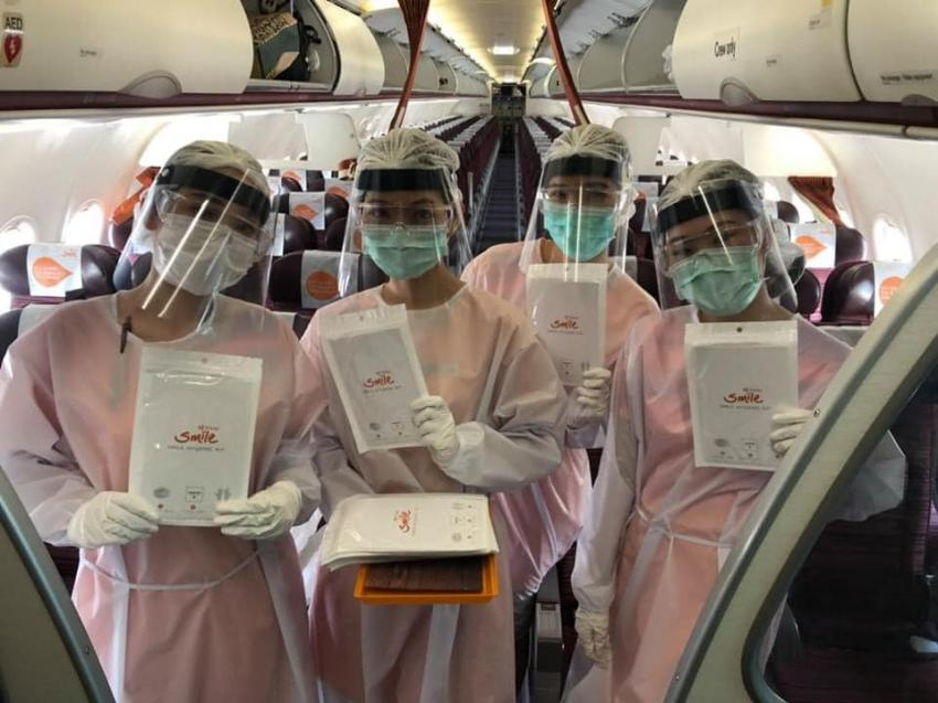 THAI Smile Airways flies 129 people, including monks, to Thailand from Gaya