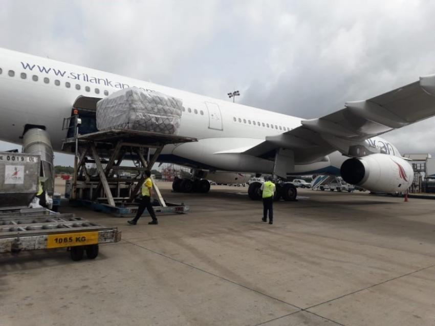 SriLankan Airlines uplifts largest vaccine consignment to Sri Lanka