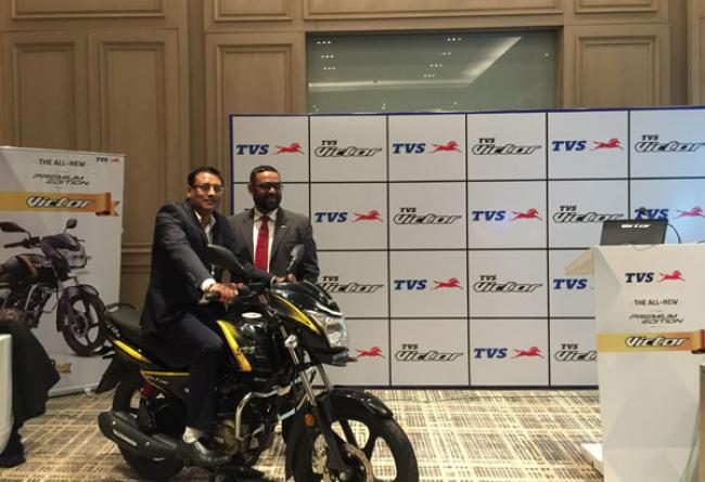TVS launches Victor 'Premium Edition' for festive season