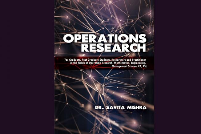 Savita Mishra decodes Operations Research in a lucid language