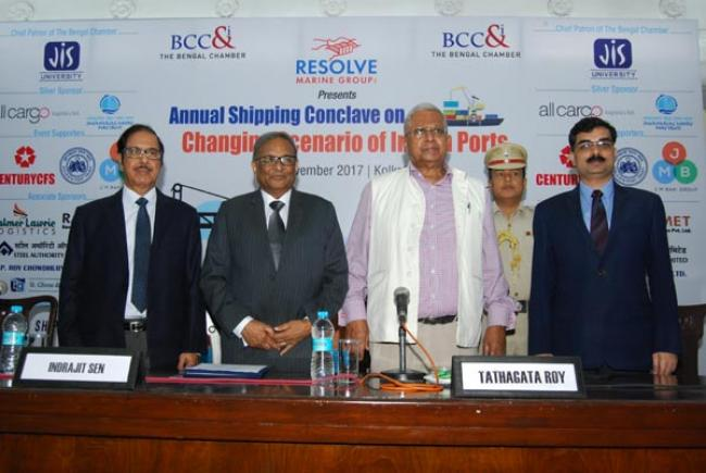 Shipping industry stakeholders discuss the changing scenario of Indian ports