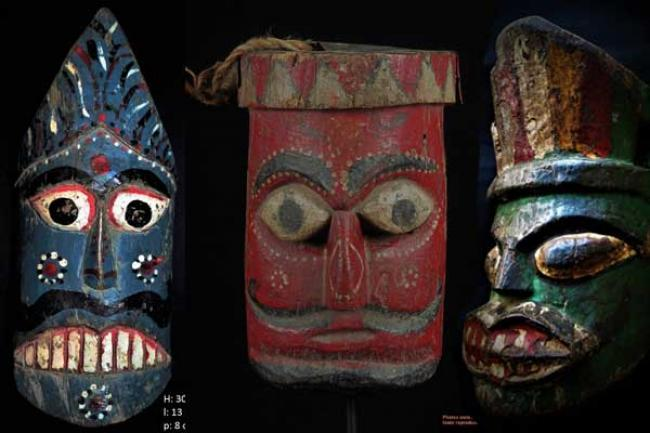 Workshop focuses on preservation of traditional mask-making art of north Bengal
