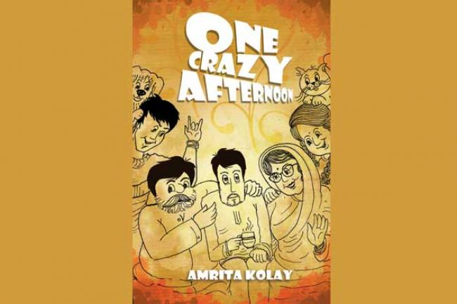 Amrita Kolay takes a perceptive glance at arranged marriage in her book One Crazy Afternoon