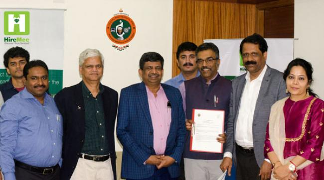 VTU, HireMee sign MoU for assessment of graduating students
