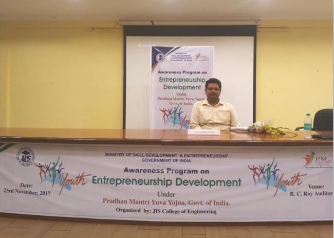 JIS College launches awareness program on entrepreneurship development