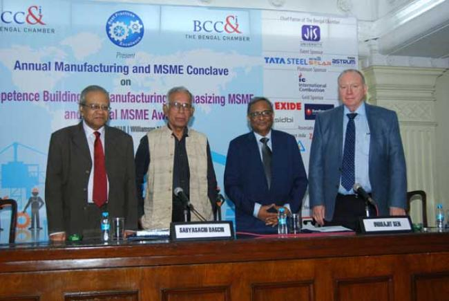 Bengal Chamber holds its Annual Manufacturing and MSME Conclave