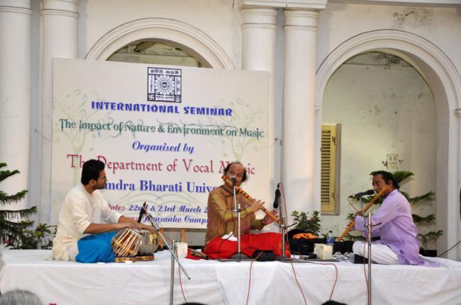 Kolkata: Rabindra Bharati University hosts seminar on impact of nature and environment on music