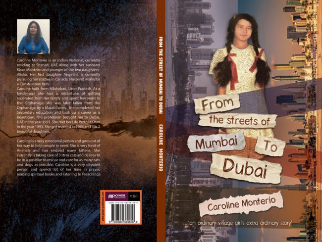 Author interview: Caroline Monteiro talks about her book 'From the Streets of Mumbai to Dubai'