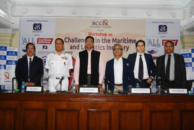 The Bengal Chamber hosts workshop on 'Challenges in the Maritime and Logistics Industry'