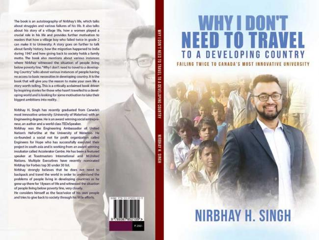 Book review: Author Nirbhay Singh on why he doesn't need to travel to a developing country