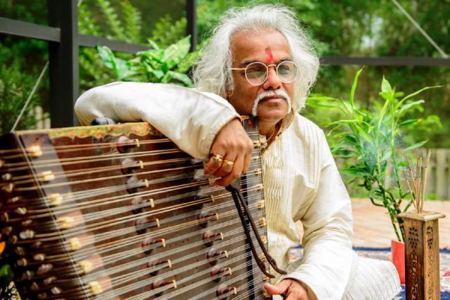 Raag Ganga is Pandit Tarun Bhattacharya's homage to Indian classical music