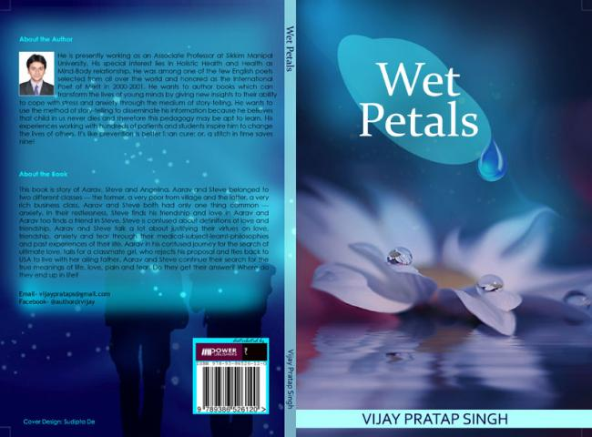 Author interview: Vijay Pratap Singh on his debut book Wet Petals