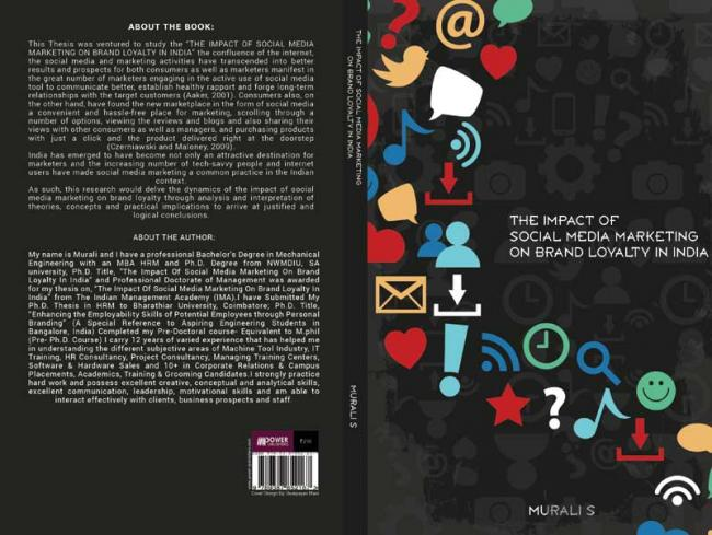 Book review: The Impact of Social Media Marketing on Brand Loyalty in India is a timely book by Murali S