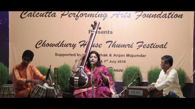 Kolkata: Sohini Roychowdhury enchants audience by her Thumri presentation