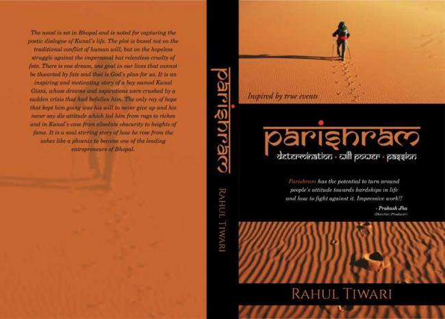 Author interview: Rahul Tiwari explains the reasons behind writing Parishram