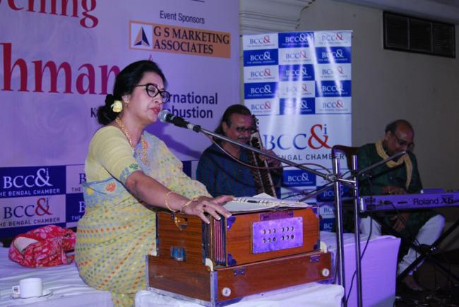 Bengal Chamber organises musical evening with Shama Rahman
