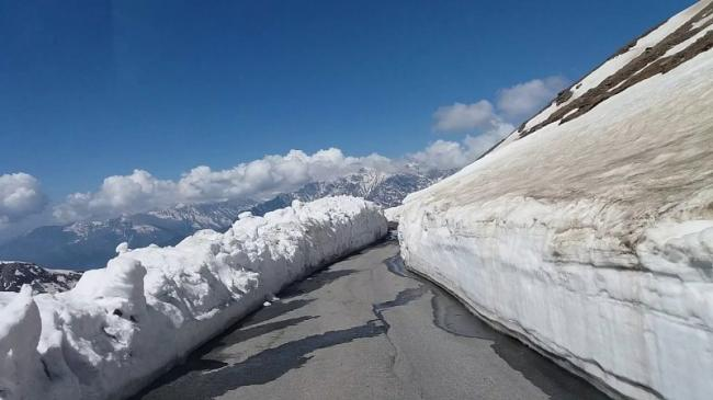 Snow cleared, Rohtang Pass reopens