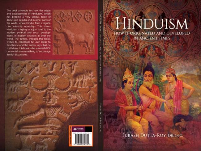 Author interview:  Subas Dutta Roy talks about his book titled Hinduism