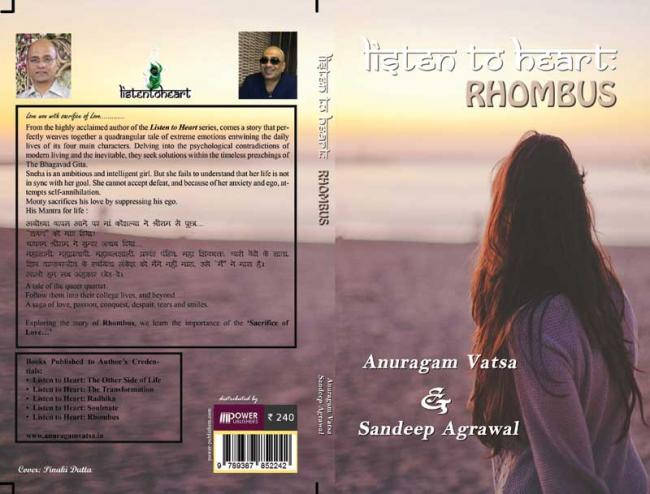 Book review: ' 'Listen to Heart: Rhombus' is based on teachings from the Bhagavad Gita