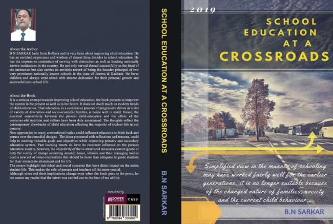 Author interview: Biswanath Sarkar talks about his book 'School Education at Crossroad: A Collection of Essays'