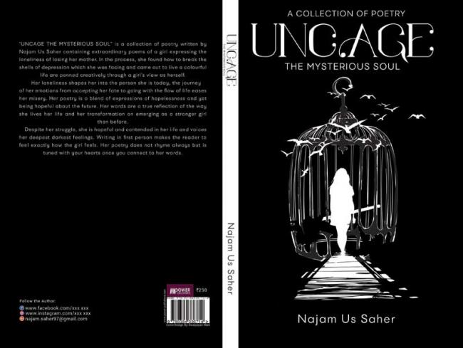 Author interview: Najam Us Saher finds solace in poetry when sad