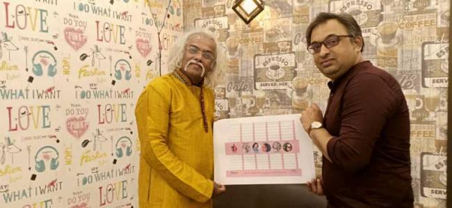 Thalassaemia Free India: Cafe Annyo rut-E, Golf Green, Rotary Club of Calcutta Metro City launch financial year calendar