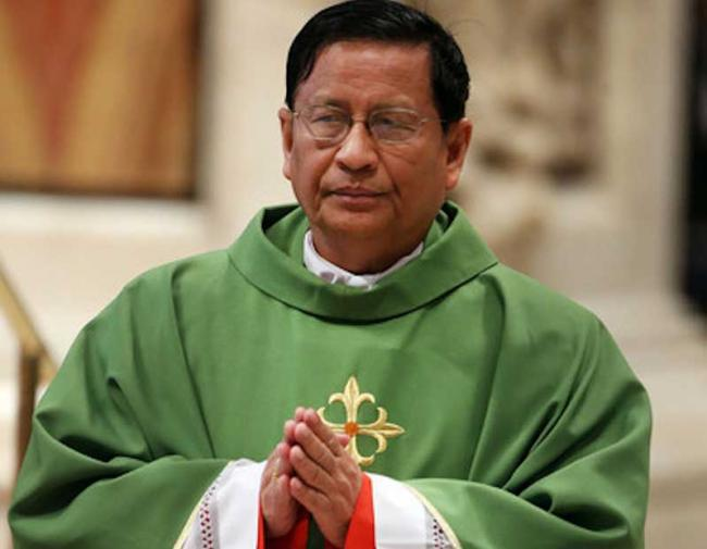 Myanmar's Cardinal Bo lauds India's disaster management efforts; calls for peace and greater use of Bible in life & mission