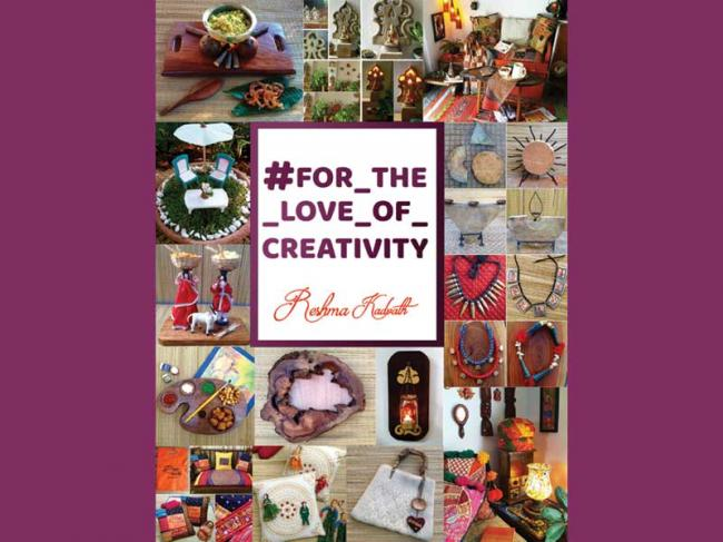 Author interview: Reshma Kadvath on her book #FOR_THE_LOVE_OF_CREATIVITY