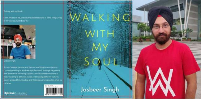 Author interview: Poet Jasbeer Singh on his book of poems titled 'Walking With My Soul'