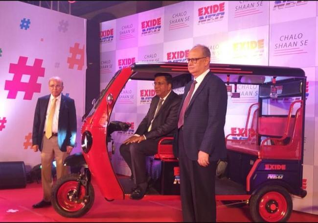 Exide enters e-rickshaw business