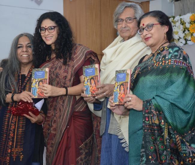 The Bengal and Zubaan celebrate life of Nabaneeta Dev Sen, launch her book Chandrabati's Ramayan