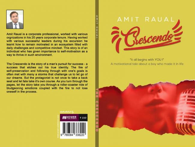 Author interview: Amit Raual talks about his book 'Crescendo'