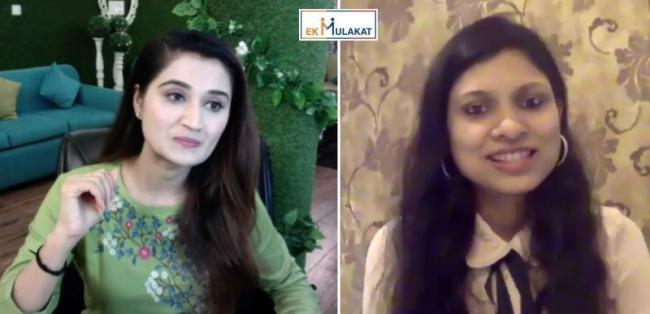 Environmentalist Arushi Nishank talks about how rural women making khadi masks to combat Covid-19