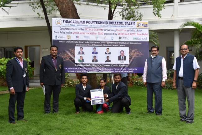 'Smart farming' solutions for automated pest-control, plant watering and growth monitoring from college students
