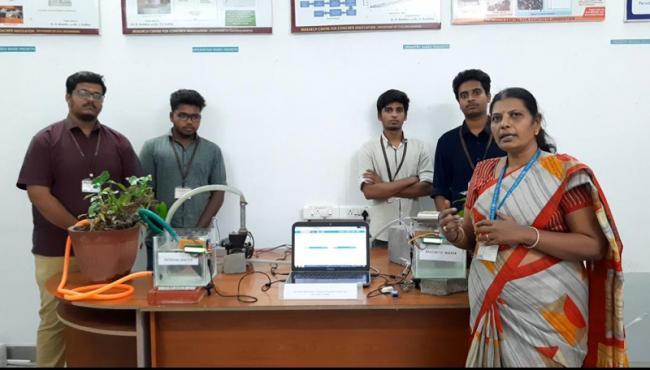 Unique magnetic water treatment tech brings accolades to students of Sona College